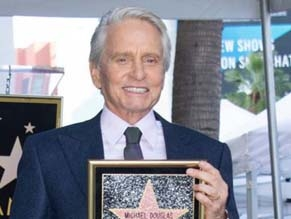 Майкл Дуглас получил звезду на Аллее славы в Голливуде