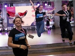 Hundreds of Jewish youth leaders gather in Kyiv