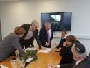 Визит председателя Комиссии США по сохранению американского наследия за границей в Литву