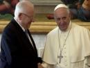 Ривлин поблагодарил Папу за борьбу с антисемитизмом