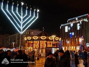 The FSU will be shining brightly this Chanukah