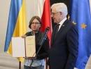 Министр иностранных дел Польши Яцек Чапутович вручил награду для Олега Сенцова