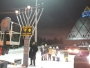 Hanukkh Menorach Lights Up Capital of Kazakhstan for First Time in Years