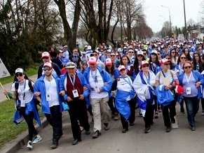 Jews travel to Poland for symbolic solidarity march