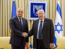 Rivlin to Moldovan president: Tell Iran to back down