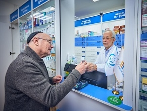 Moscow: Subsidized Jewish Pharmacy for the Needy and Elderly