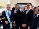 Нетаниягу заверил евреев Бразилии, что Болсонару переведет посольство в Иерусалим