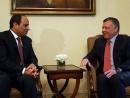 Король Иордании и президент Египта призвали к возобновлению переговоров между палестинцами и Израилем