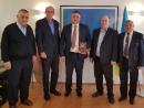 Посол Украины в Израиле Геннадий Надоленко посетил Бар-Иланский университет