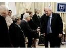 Президент Израиля встретился с немецкими волонтерами и пережившими Холокост
