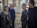 В Иерусалиме состоялось открытие мемориальной доски в память о Праведнике мира Тиунэ Сугихаре