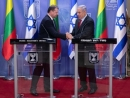 Netanyahu Meets Lithuanian President in Latest Overture to Former Soviet Bloc