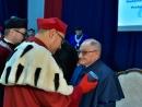 Украинская ассоциация иудаики поздравила Шимона Редлиха с присуждением почетной степени доктора Жешувского университета