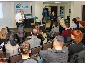 В Днепре прошла публичная лекция «Гиюр в Израиле»