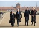 Дуда и Пенс посетили бывший концлагерь «Аушвиц-Биркенау»
