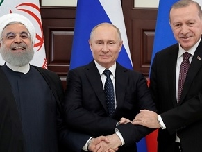 Russia, Turkey and Iran hail US withdrawal from Syria