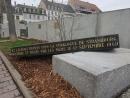 В Страсбурге вандалы разрушили стеллу на месте синагоги