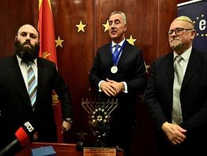 Президенту Черногории вручили премию имени царя Давида