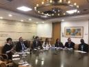 Геннадий Надоленко обсудил вопросы легального трудоустройства украинских граждан в Израиле