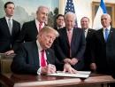 Трамп подписал прокламацию о признании суверенитета Израиля над Голанами