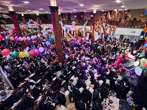 Bar Mitzvah on Purim Fed 1,000
