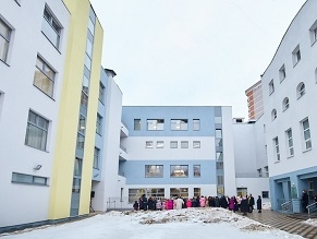 New Wing opens in Jewish Children's Home in Moscow