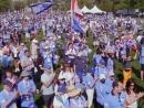 В Торонто прошел многотысячный марш в поддержку Израиля