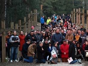 In Belarus, Jews helped build a restaurant next to Stalin-era graves