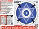 Главный редактор еженедельника Bild призвал всех немцев надеть еврейские кипы