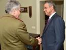 Послу Израиля в Литве Амиру Маймону вручена медаль Вооруженных сил Литвы