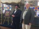 В петербургской синагоге открылась выставка Анатолия Каплана