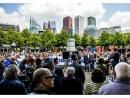 В Гааге прошел митинг против антисемитизма