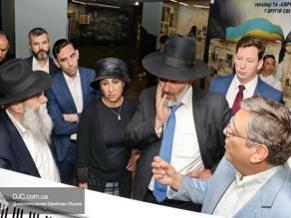 Министр внутренних дел Израиля Арье Дери посетил Еврейский музей Днепра