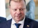 Премьер-министр С. Сквернялис призвал правоохранительные органы реагировать на угрозы в адрес Еврейской общины
