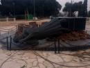 Задержан житель Иерусалима, разгромивший мемориал жертвам Холокоста в Рамат-Гане