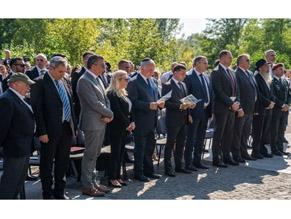 Лидеры Украины и Израиля почтили память погибших в Бабьем Яру во время Второй мировой войны