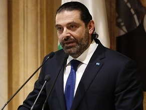 Lebanese PM asks for Russia's support in avoiding tensions with Israel
