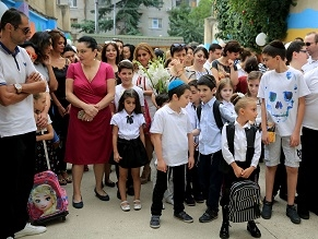 For Tbilisi Students, this New School Year Heralds a New Building