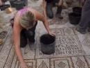 В Израиле нашли древнюю мозаику с изображением одного из чудес Иисуса Христа