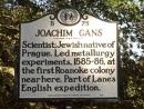 В США установили памятник первому еврею Северной Америки
