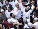 Nearly 27,000 Jewish pilgrims mark new year, pray at sacred grave in Uman