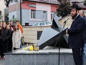 В Черновцах прошел митинг памяти жертв Холокоста на Буковине