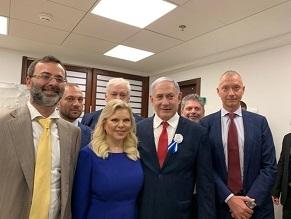Ukrainian delegation visits Knesset's inauguration