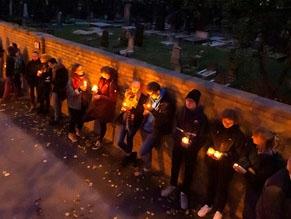 Жители Галле почтили память жертв антисемитского теракта
