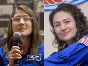 NASA планирует выход в открытый космос, который осуществят Джессика Меир и Кристина Кук