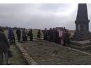 В Бердянске почтили память евреев, погибших в Мерликовой балке