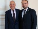 Министр культуры Литвы и посол Израиля обсудили вопросы двустороннего сотрудничества