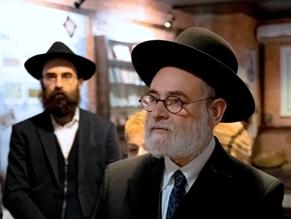 Музей Михаила Мармера посетил главный раввин Нидерландов Биньямин Джейкобс