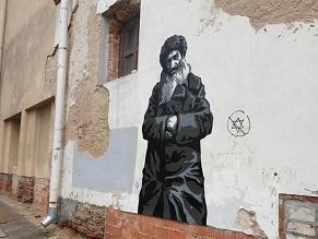 Anti-Semitic Graffiti Found on Lithuanian Project Commemorating Jewish Life