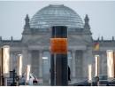 В Берлине установлен монумент из пепла и костей погибших в концлагерях